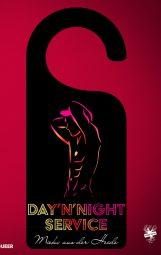 Cover von Day'n'Night Service von Mieko aus der Heide