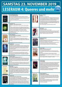 Lesungen bei der BuchBerlin Leseraum 4