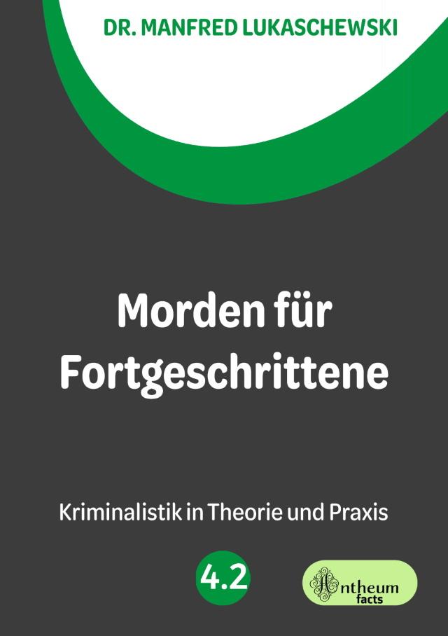 Cover von Morden für Fortgeschrittene von Dr. Manfred Lukaschewski