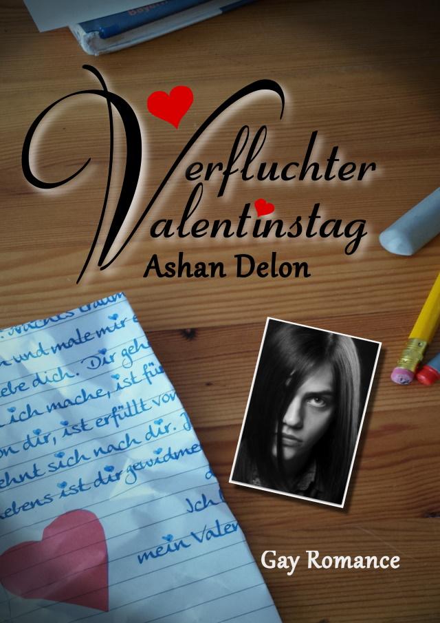 Cover von Verfluchter Valentinstag von Ashan Delon