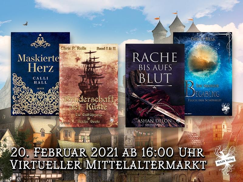 Mittelaltermarkt – Online