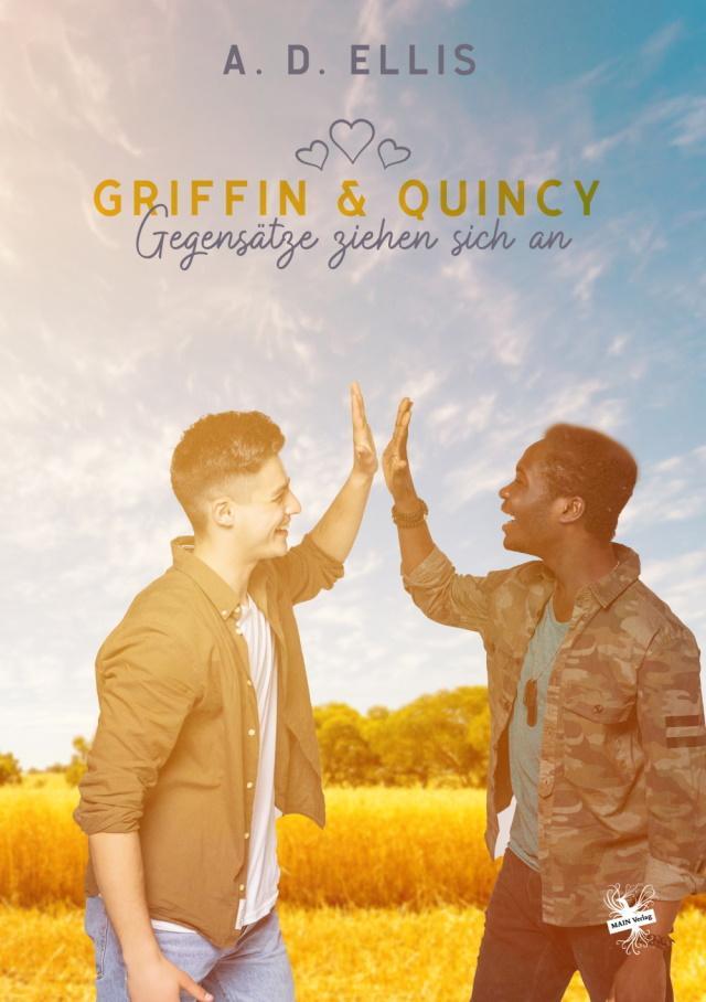 Cover von Griffin und Quincy - Gegensätze ziehen sich an von A.D. Ellis